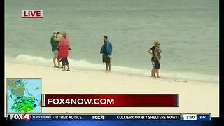 Some trying to relax ahead of Irma's landfall - Video