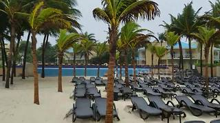 Tropical Storm Franklin hits Playa del Carmen in Mexico - Video