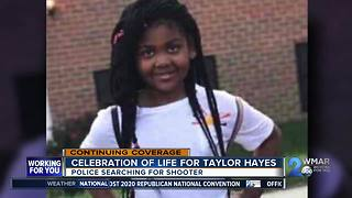 Celebration of life for Taylor Hayes - Video