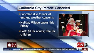Cal City Christmas parade canceled