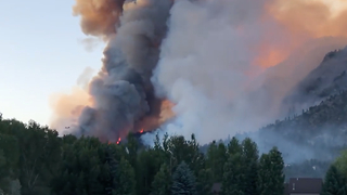 Colorado's 416 Fire Grows by 2,000 Acres in One Day - Video