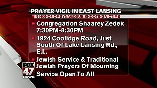 Local synagogue to hold prayer vigil