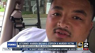 Stepson of prominent defense attorney killed over holiday weekend - Video