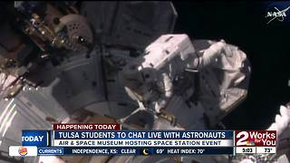 Local students to do live chat with NASA astronauts in space - Video