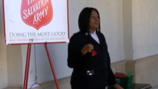 Salvation Army bell ringer shortage - Video