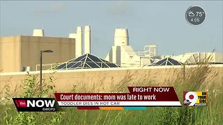 Court documents: mom was late to work - Video