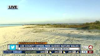 Lee County offers free guided nature walks - Video