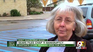 Sears files for Chapter 11 bankruptcy protection - Video