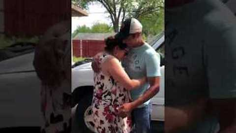 Woman Receives the Most Wonderful Gift on Mother's Day