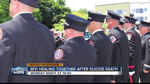 FINDING HOPE TEASE: BFD coping with suicide death