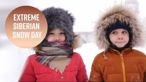 How do kids get a snow day in earth's coldest town?