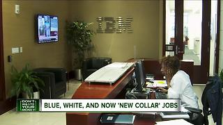 Forget white or blue, now there is a 'new collar' worker - Video