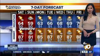 10News Pinpoint Weather for Sat. Oct. 6, 2018