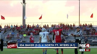 Ida Baker Bulldogs at North Fort Myers Red Knights