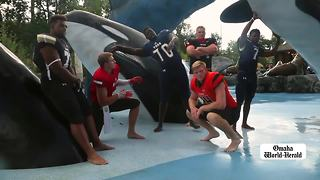 Omaha Sunday Morning: Offutt rescue, comfort dogs, football super six - Video