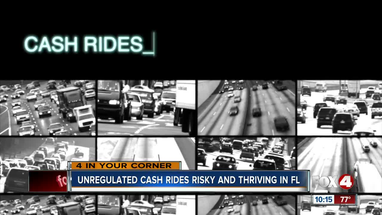 "Black market ""cash rides"" fuel concerns across Florida"