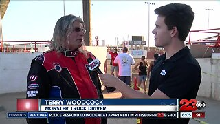 Interview with monster truck driver Terry Woodcock