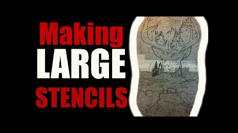 ✅How to make a LARGE STENCIL for TATTOOING ❗❗