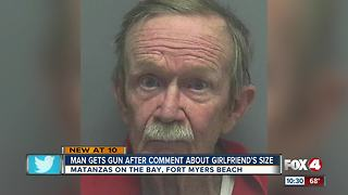 Man gets gun after comment about girlfriend's sizeoo - Video