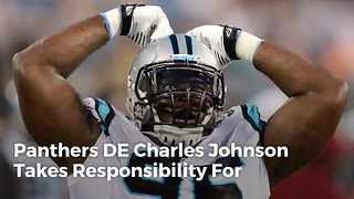 Panthers DE Charles Johnson Suspended 4 Games For PEDs - Video