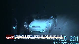 Two Pinellas County deputies suspended after excessive force investigation - Video