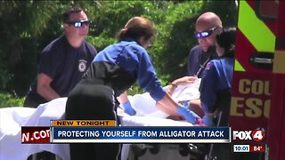 Protect yourself from an alligator attack