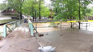 Flooding forces amusement park in Pennsylvania to close again