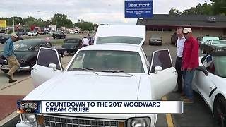 Countdown to the 2017 Woodward Dream Cruise - Video