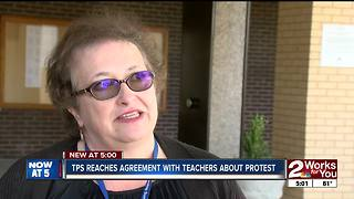 TPS board introduces resolution supporting teacher protests - Video