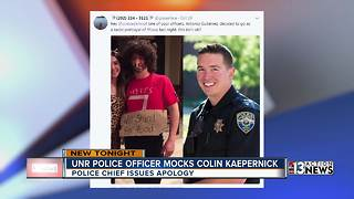 Reno police officer dresses up as Colin Kaepernick - Video
