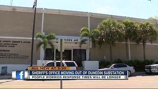 Sheriff's office moving out of Dunedin substation - Video