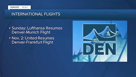 Non-stop flights to Europe are returning to DIA