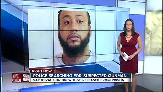 MD police seek man just released from prison in fatal shooting - Video