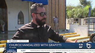 Catholic churches vandalized with graffiti in El Cajon