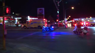 Deadly crash closes Flamingo, Swenson intersection