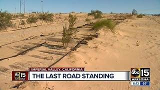 This Plank Road is the original road from Phoenix to San Diego - Video