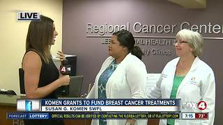 Susan G. Komen grants almost $200,000 to local non-profits for breast cancer patient resources - 7am live report