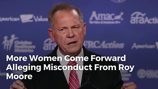 More Women Come Forward Alleging Misconduct From Roy Moore - Video