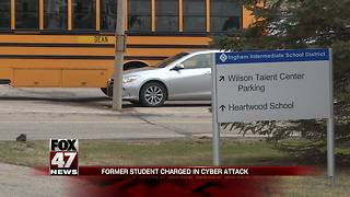 Former student charged In cyber attack