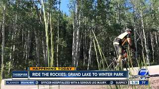 Ride the Rockies travels Grand Lake to Winter Park today