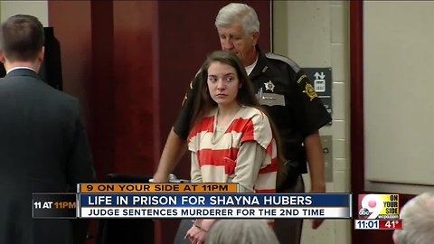 Life in prison for Shayna Hubers