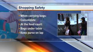 Steps to ensure your family is safe while doing holiday shopping - Video