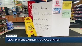 DDOT drives banned from gas station