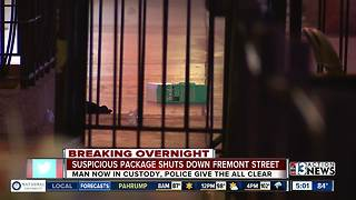 Fremont at Third Street shuts down overnight after man threatens to burn people - Video