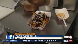 Food truck Friday: Food Coma 7:15AM - Video