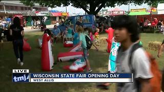 Wisconsin State Fair officials prepared for severe weather - Video