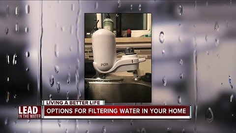 Options for filtering water in your home