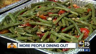 More people dining out on Thanksgiving