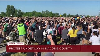Ninth day of protest continues in Macomb County