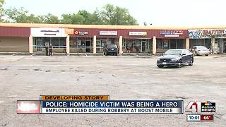 Suspect shoots and kills man at cell phone store - Video